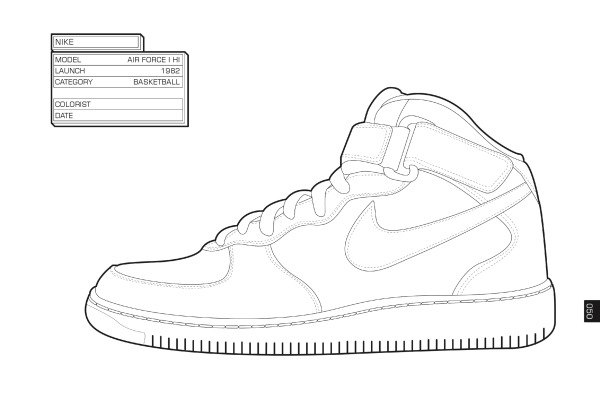 sneakerhead coloring book pages | [Print] Daniel Jarosch & Henrik Klingel – The Sneaker ...